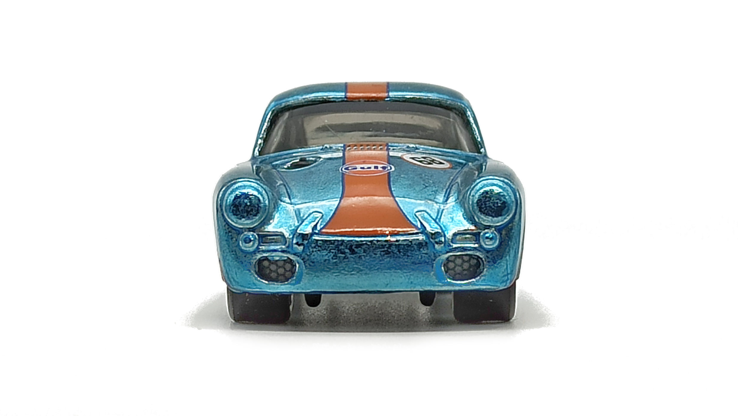 Hot Wheels Porsche 356 Outlaw (GTD08) 2021 (171/250) HW Speed Graphics (7/10) spectraflame light blue (Gulf) Super Treasure Hunt (STH) top