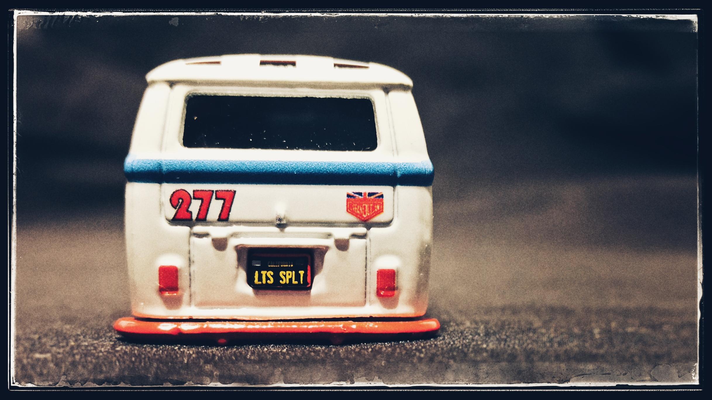 Hot Wheels Volkswagen T1 Panel Bus (GJT70) 2020 Boulevard (#3) white Magnus Walker Urban Outlaw VW back