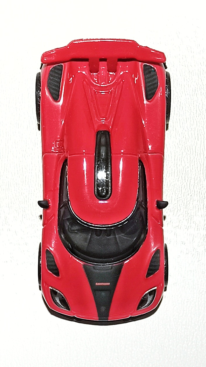 Hot Wheels Entertainment Koenigsegg Agera R (BDT86) 2014 Need for Speed red top