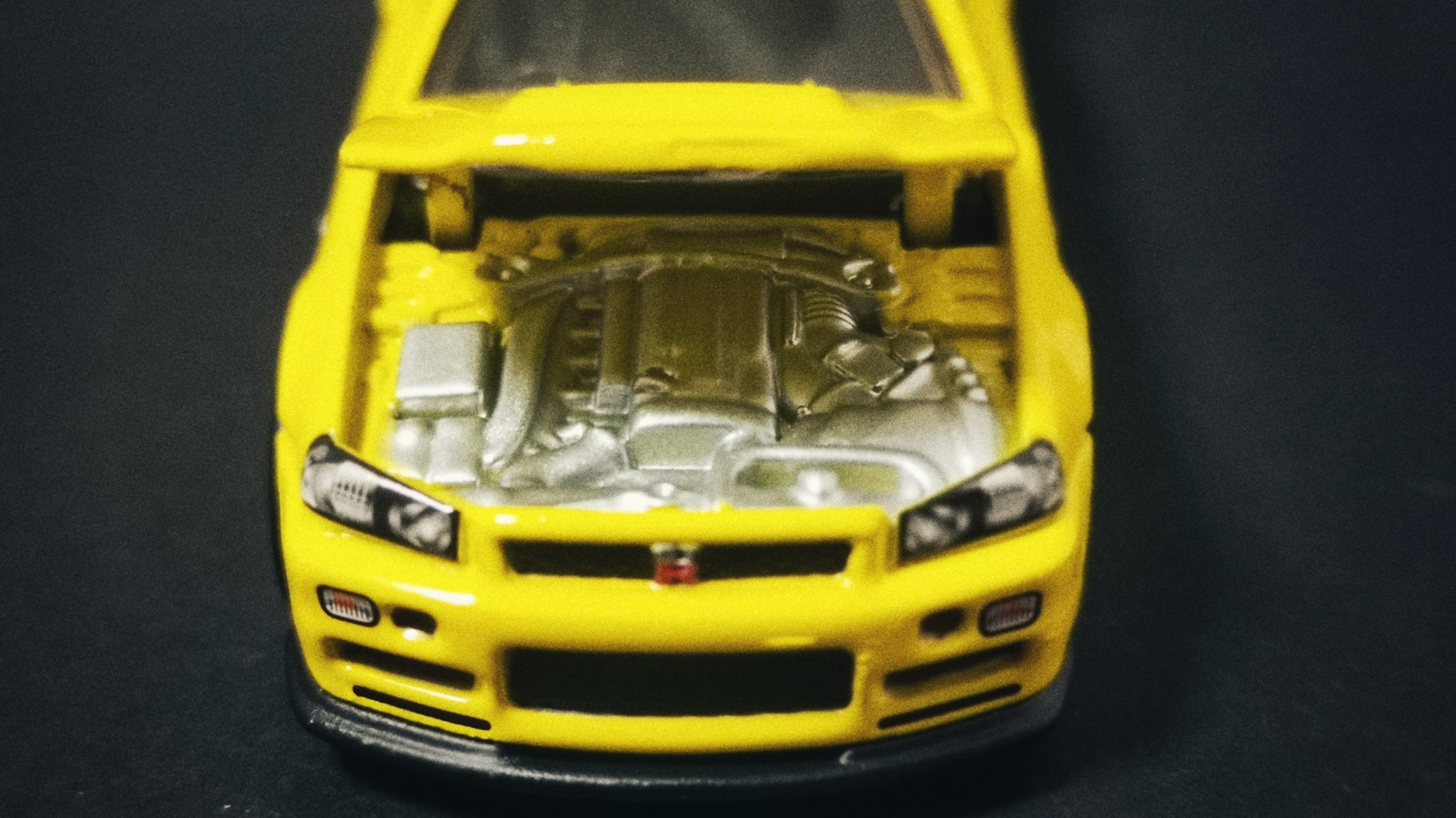 Hot Wheels 33rd Annual Collectors Convention Nissan Skyline GT-R (R34) 2019 yellow hood