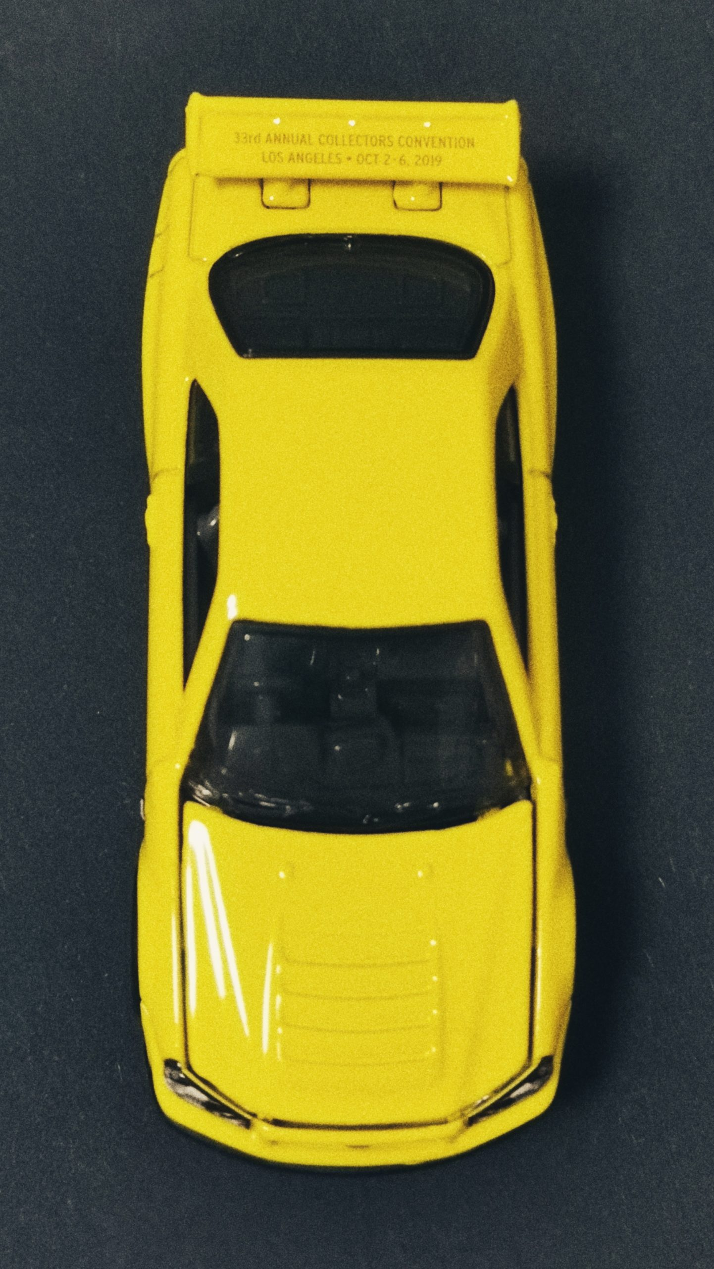 Hot Wheels 33rd Annual Collectors Convention Nissan Skyline GT-R (R34) 2019 yellow top