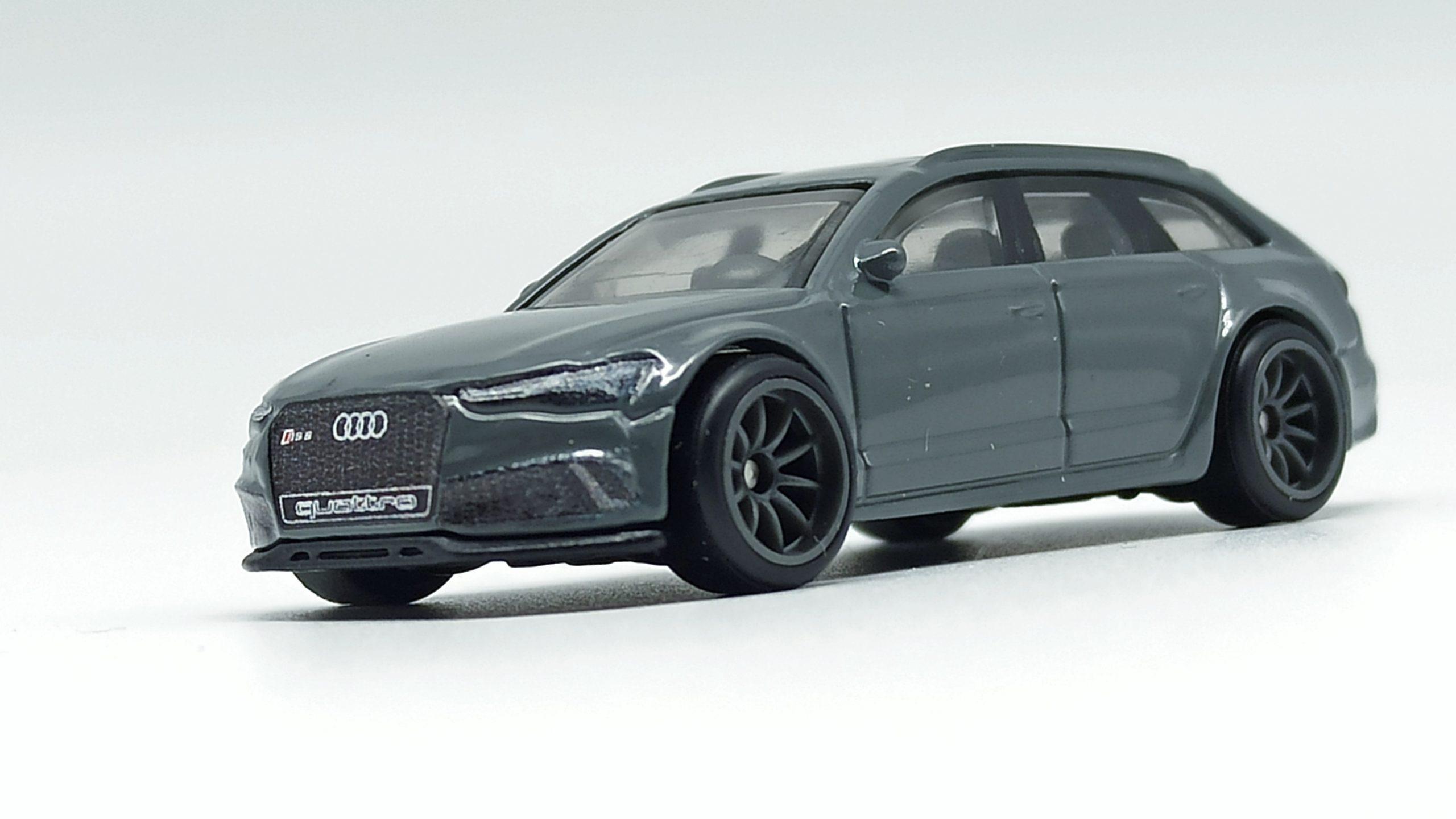 Hot Wheels '17 Audi RS 6 Avant (GRJ65) 2021 Car Culture: Fast Wagons (5/5) grey side angle
