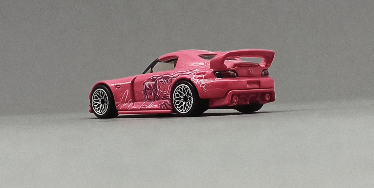 Hot Wheels Honda S2000 (GJR81) 2020 Fast & Furious: Quick Shifters (1/5) pink back angle