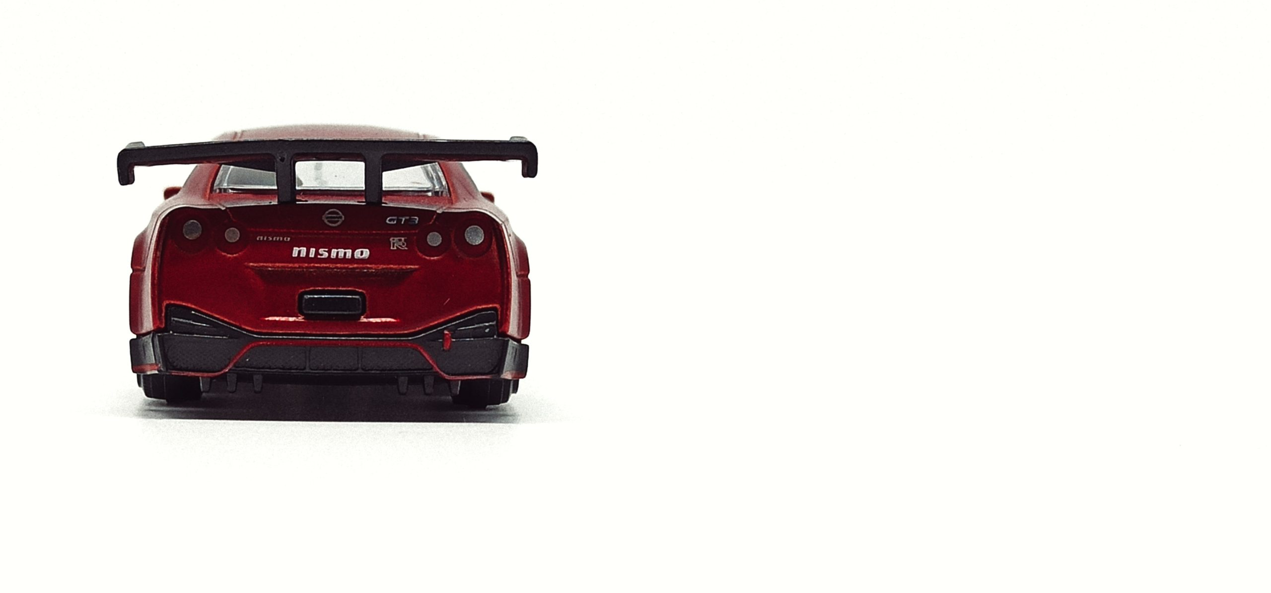 Majorette Nissan GT-R Nismo GT3 (214H) 2021 Limited Edition Series 7 metallic red back
