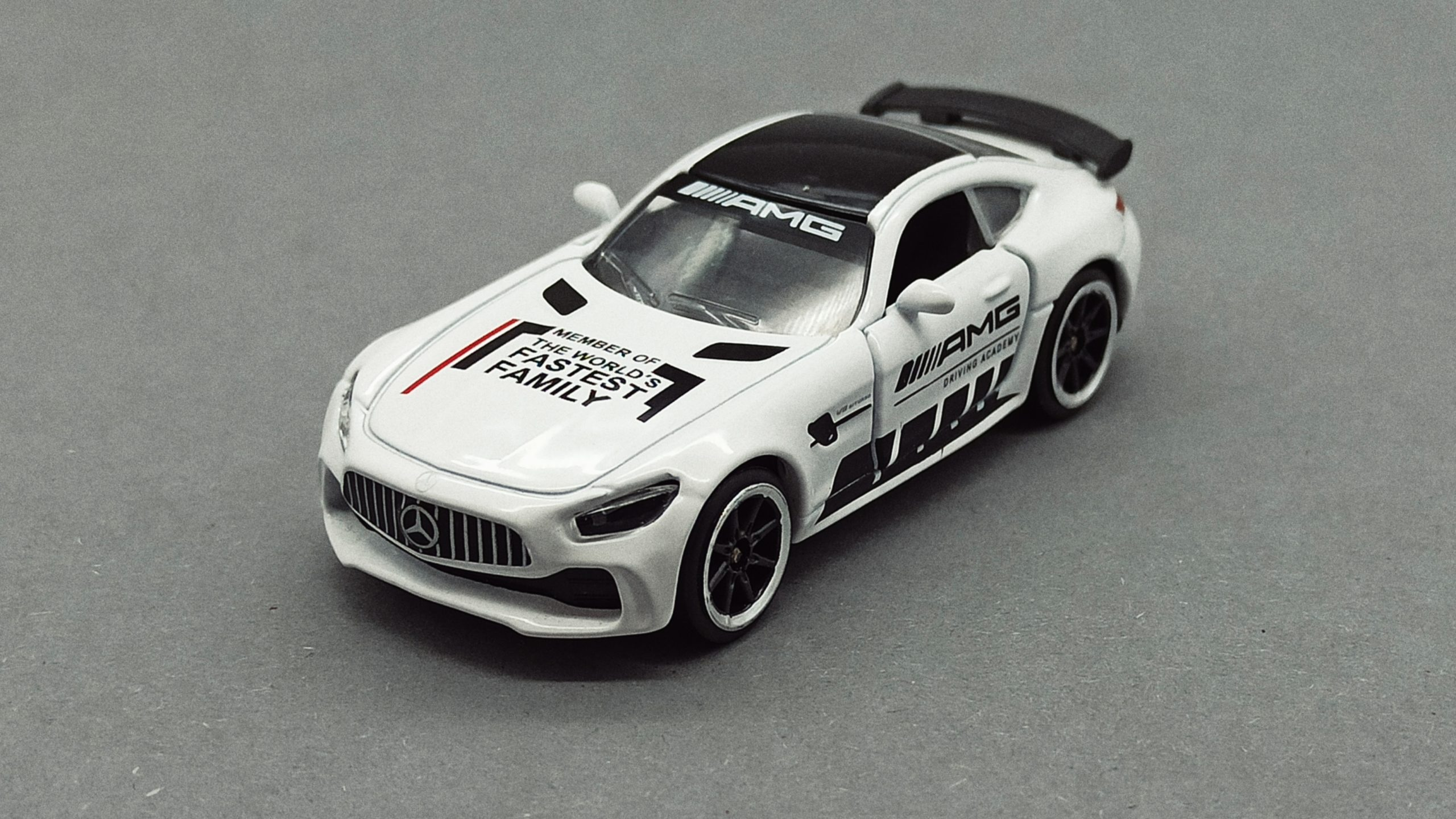 Majorette Mercedes-AMG GT R (9613) 2020 Racing Cars white angle