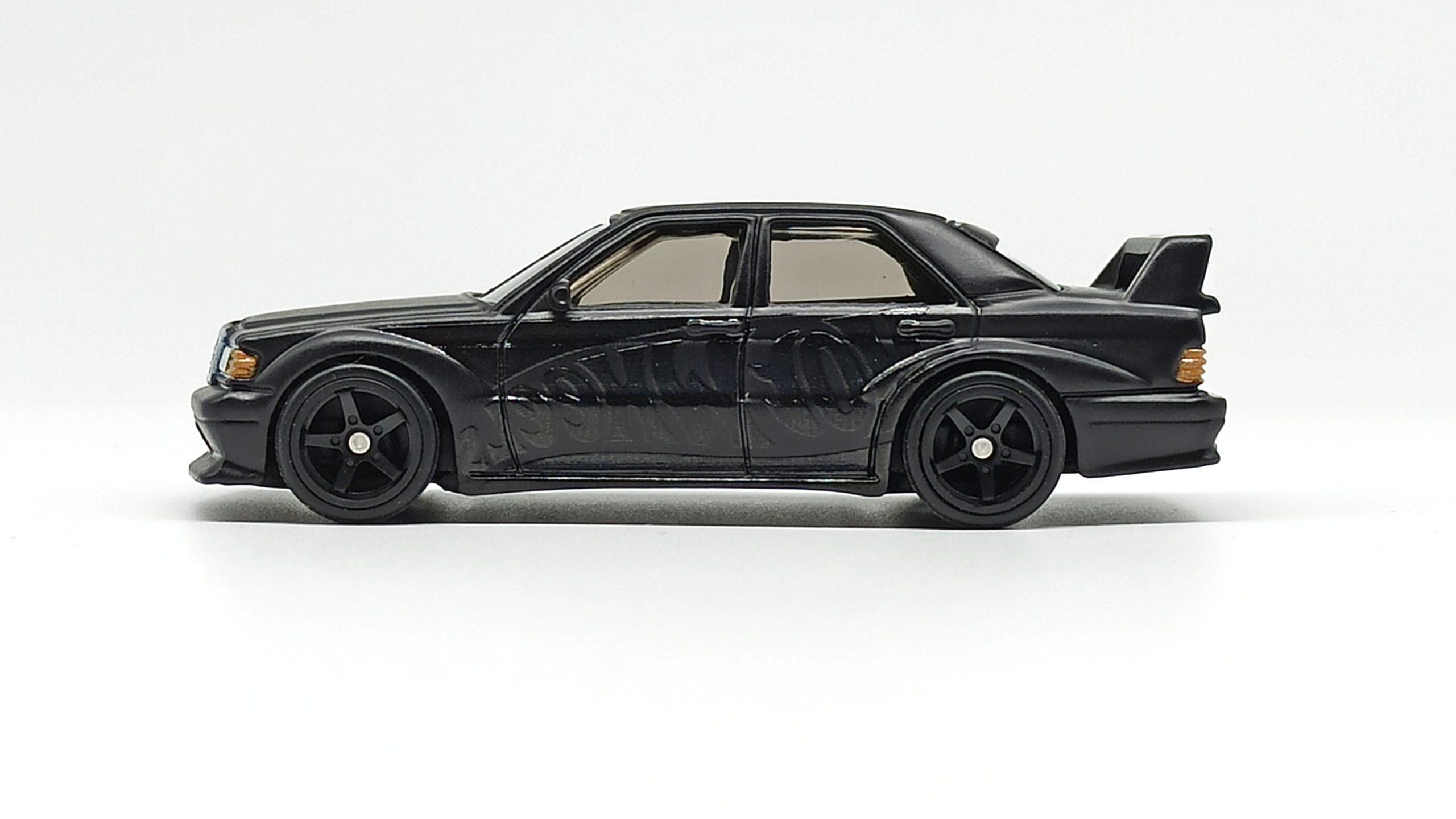 Hot Wheels Mercedes-Benz 190E 2.5-16 EVO II (DWH66) 2021 Display Case Exclusive black side