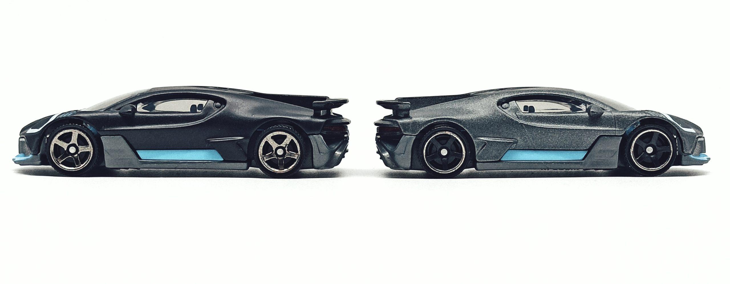 Matchbox 2018 Bugatti Divo (MB39) 2021 MBX Showroom matte black grey