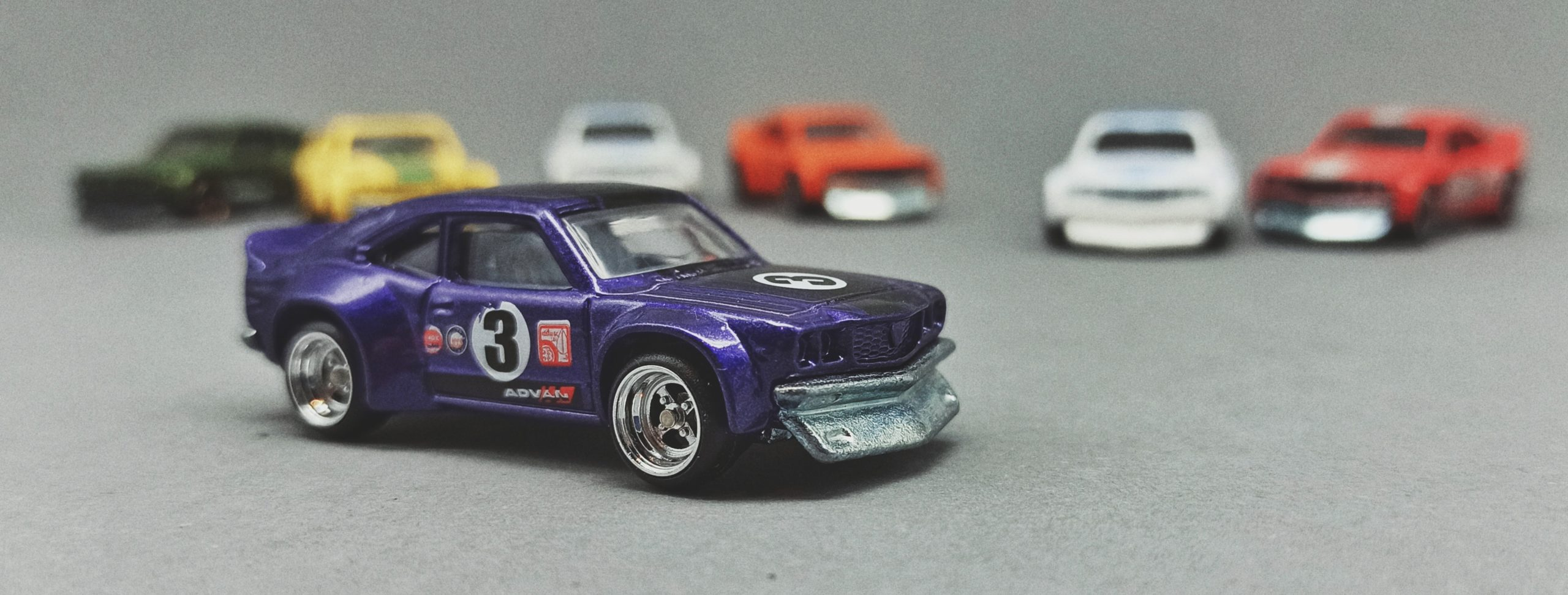 Hot Wheels Mazda RX-3 Collection 2016 Car Culture: Japan Historics (5/5), metalflake purple (DJF78)
