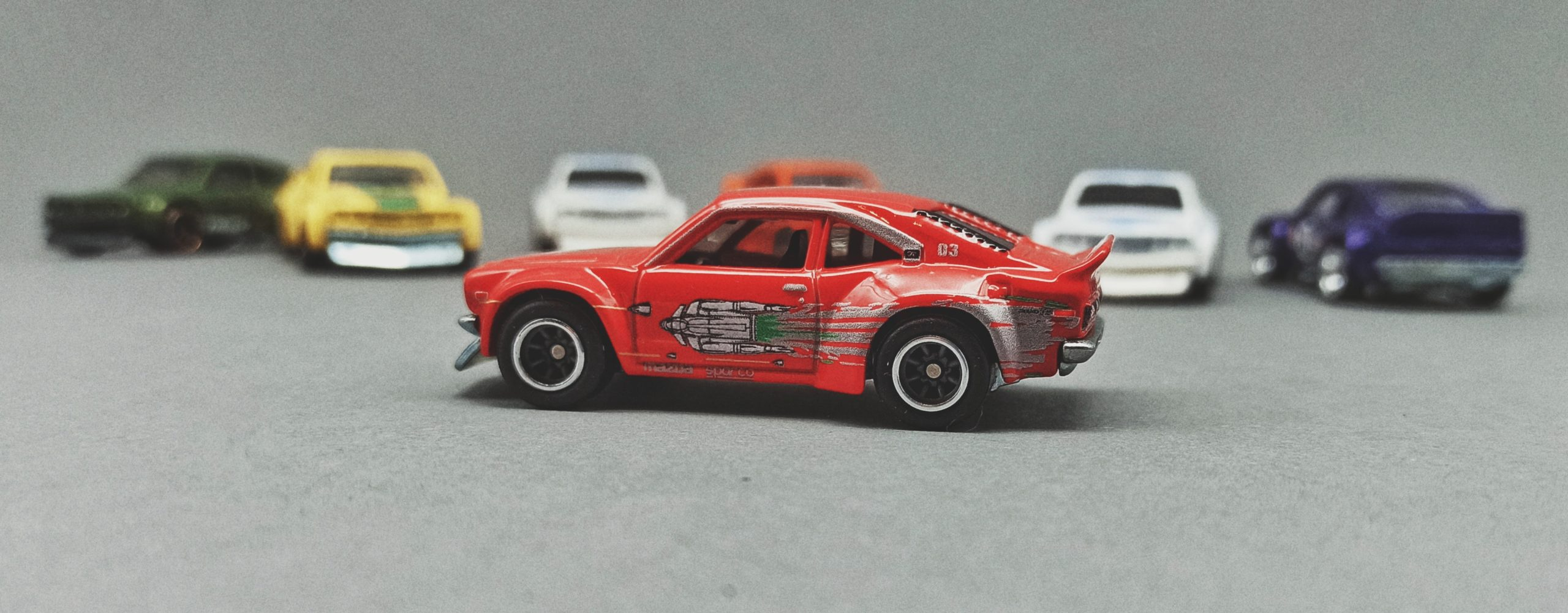 Hot Wheels Mazda RX-3 Collection 2019 Fast & Furious: Fast Rewind (1/5), red (GHH20)