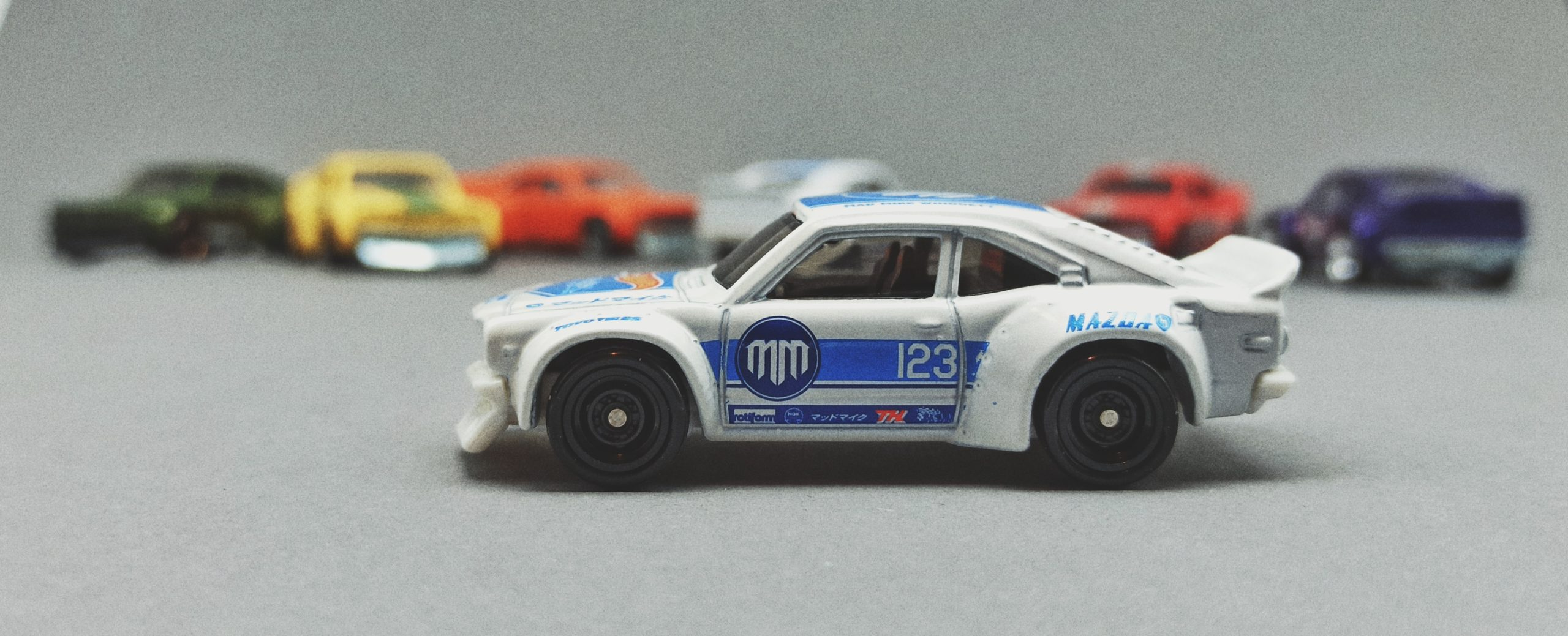 Hot Wheels Mazda RX-3 Collection 2021 (137/250) HW Drift (5/5), white (Mad Mike) (STH) (GTD00)