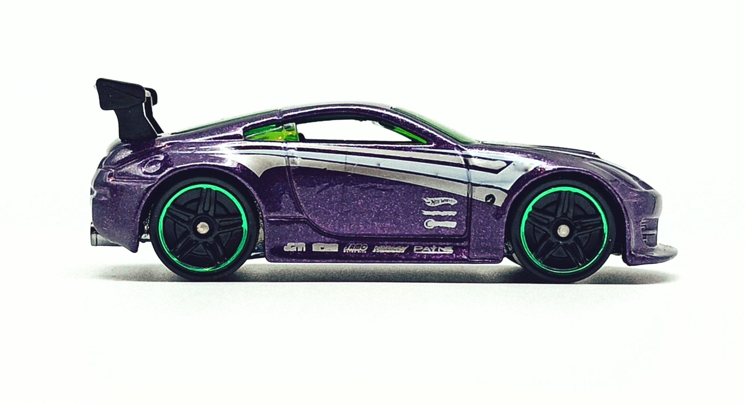 Hot Wheels Nissan 350Z (R7487) 2010 (234/240) Mystery Cars (18/24) purple side