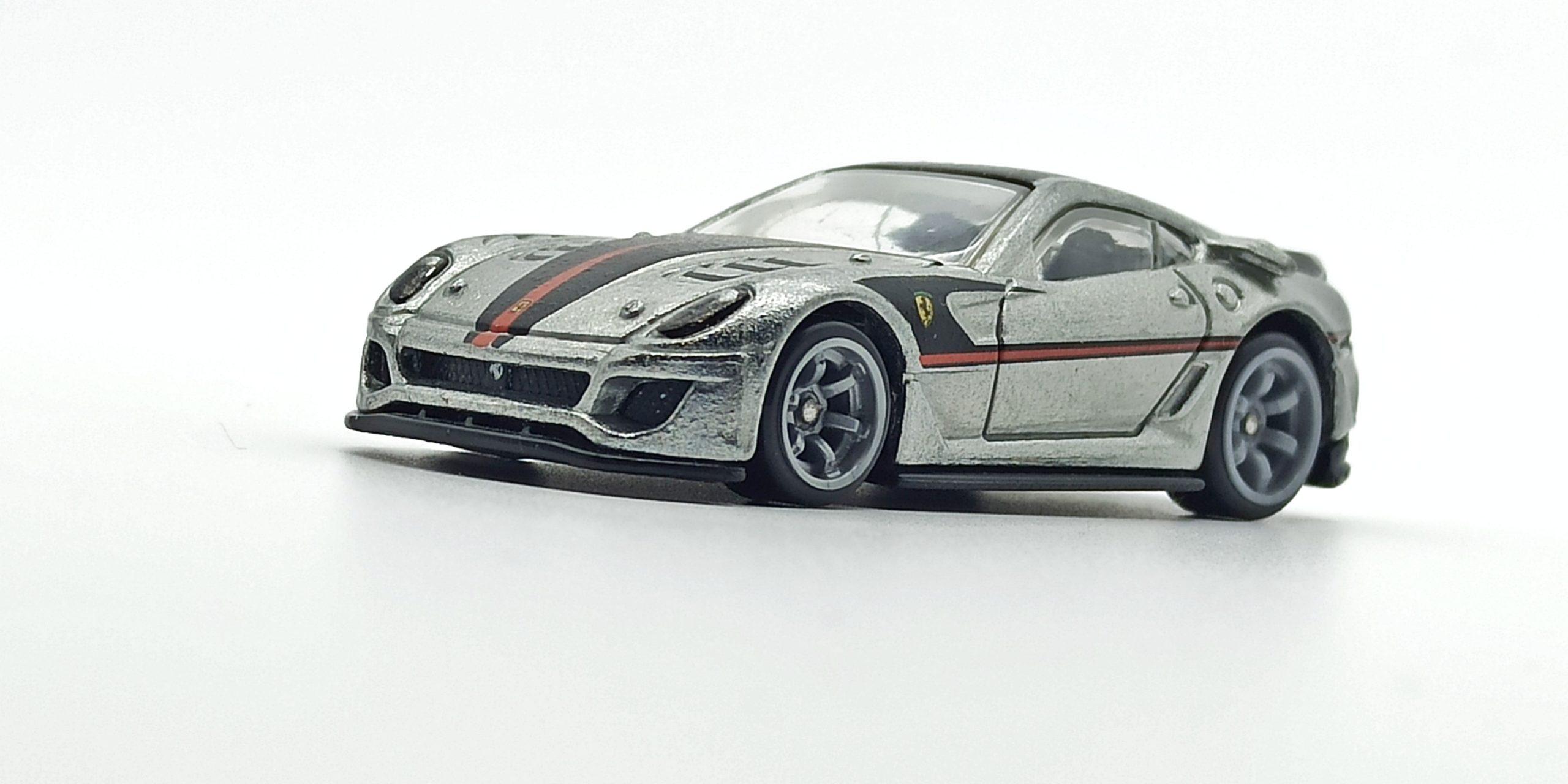 Hot Wheels Ferrari 599XX (W2319) 2011 Speed Machines zamac side angle