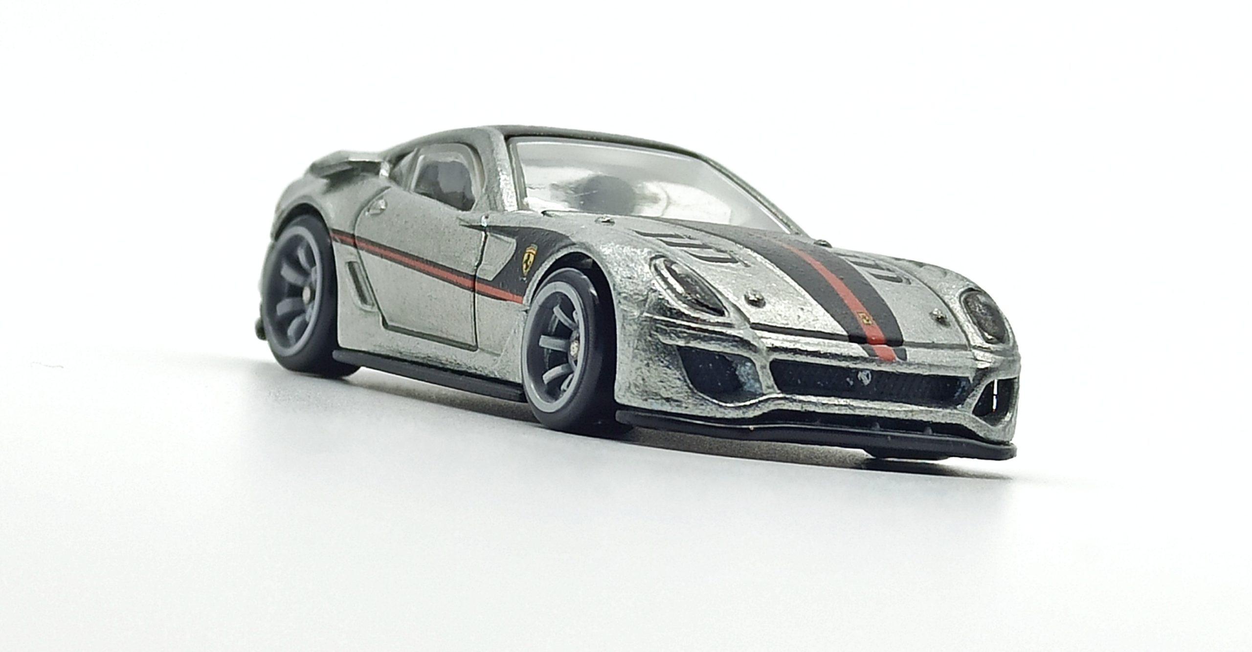 Hot Wheels Ferrari 599XX (W2319) 2011 Speed Machines zamac front angle