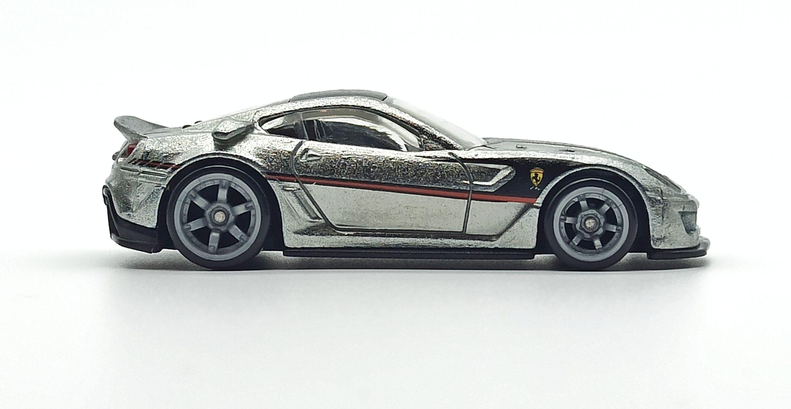 Hot Wheels Ferrari 599XX (W2319) 2011 Speed Machines zamac side