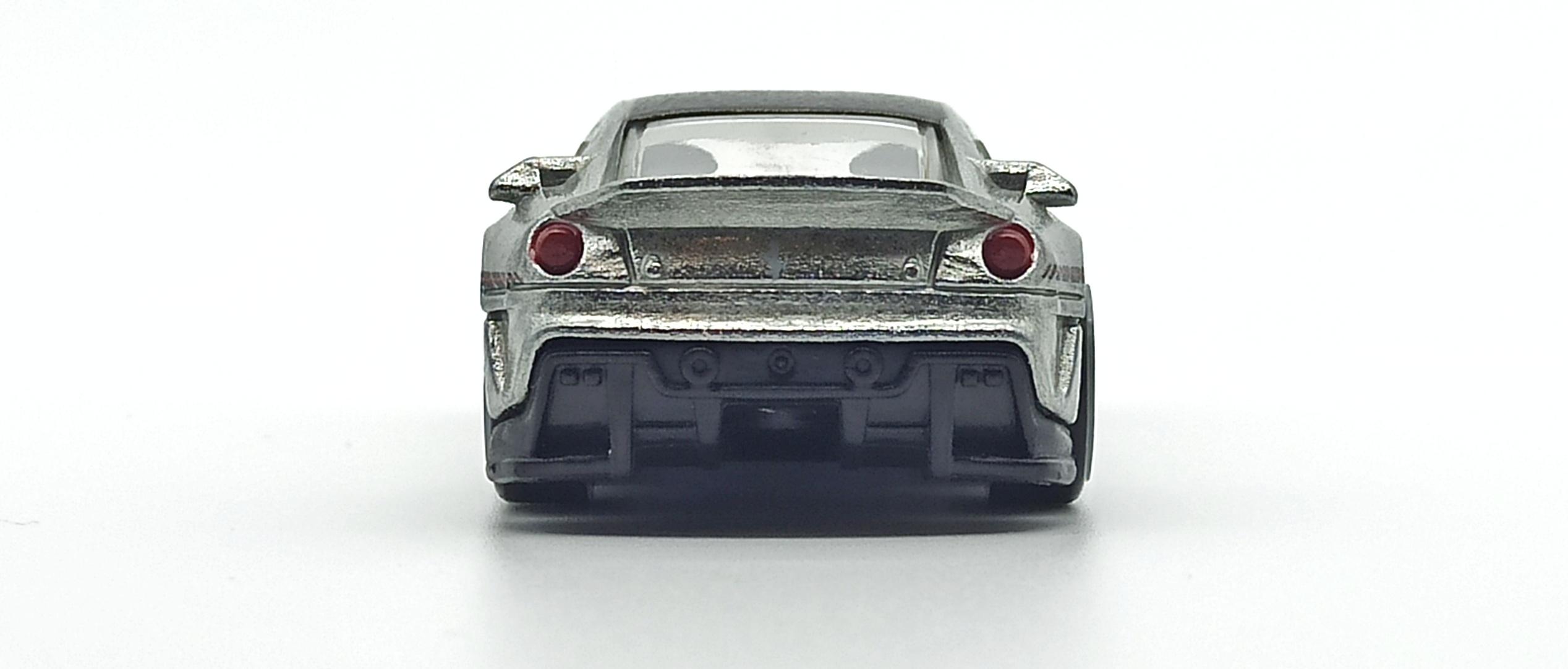 Hot Wheels Ferrari 599XX (W2319) 2011 Speed Machines zamac back