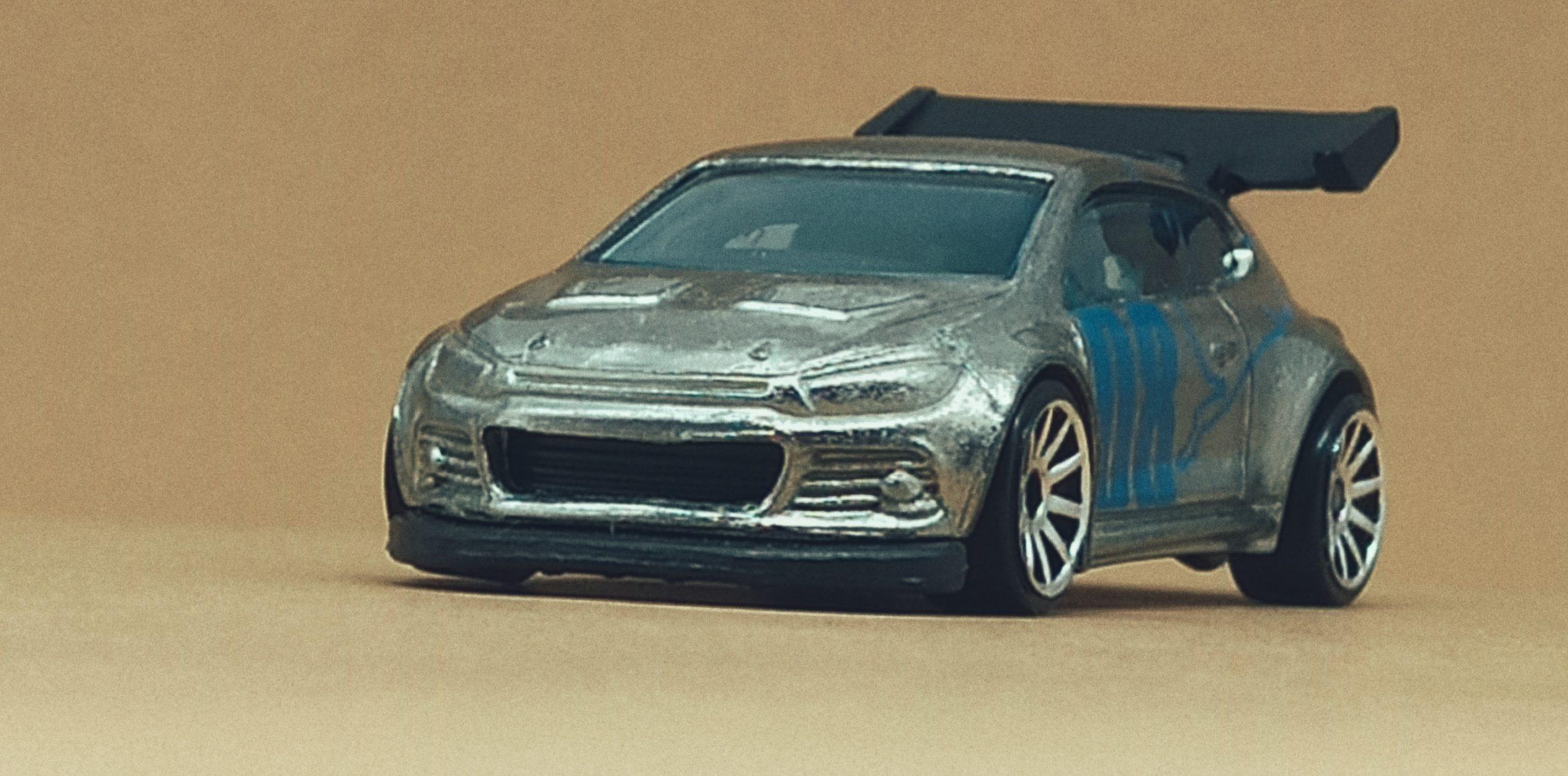 Hot Wheels Volkswagen Scirocco GT 24 (X2050) 2013 (160/250) HW Showroom: Asphalt Assault VW zamac front angle