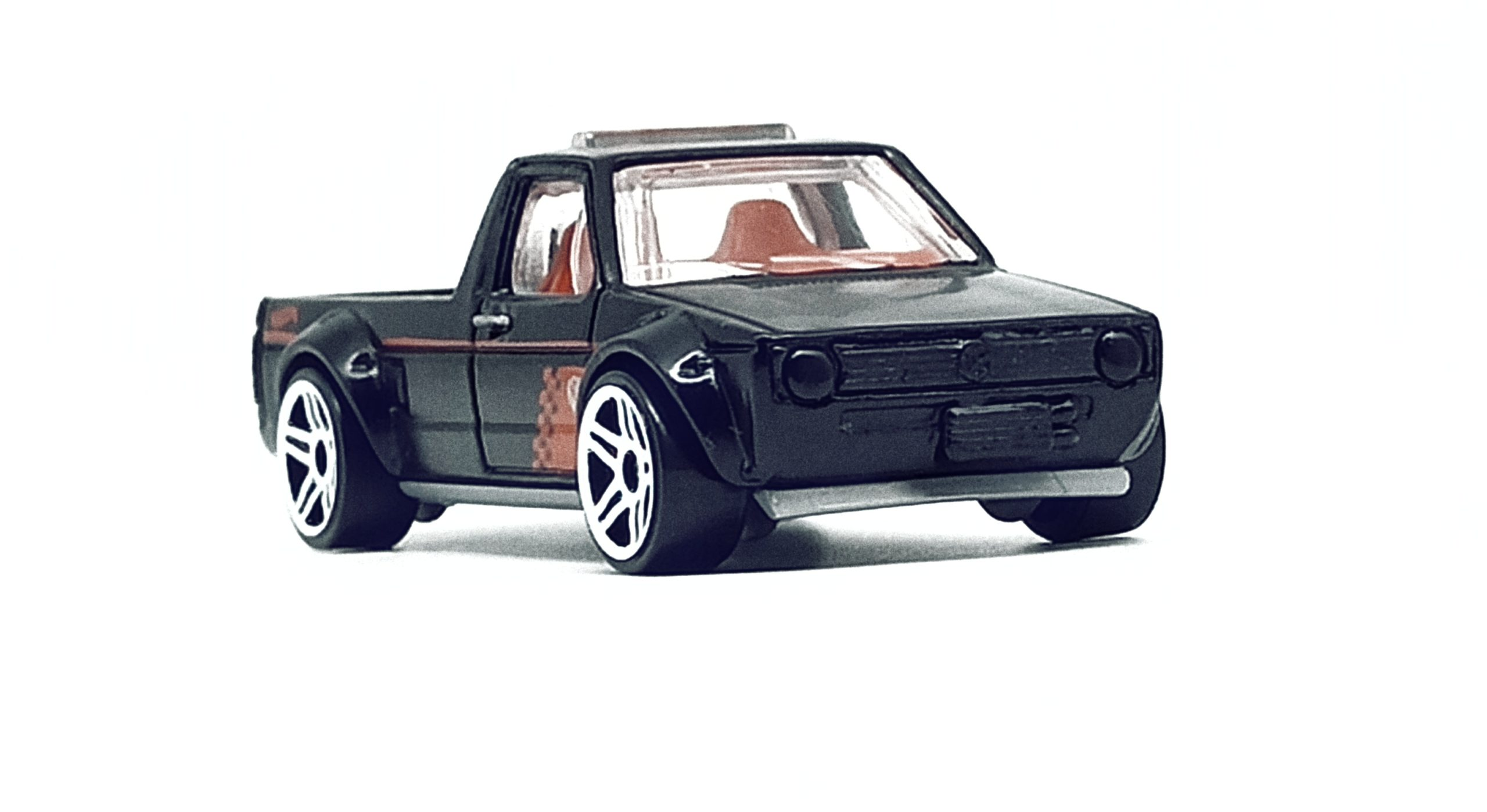 Hot Wheels Volkswagen Caddy (FYG73) 2019 (177/250) Target Red Edition (12/12) VW black front angle