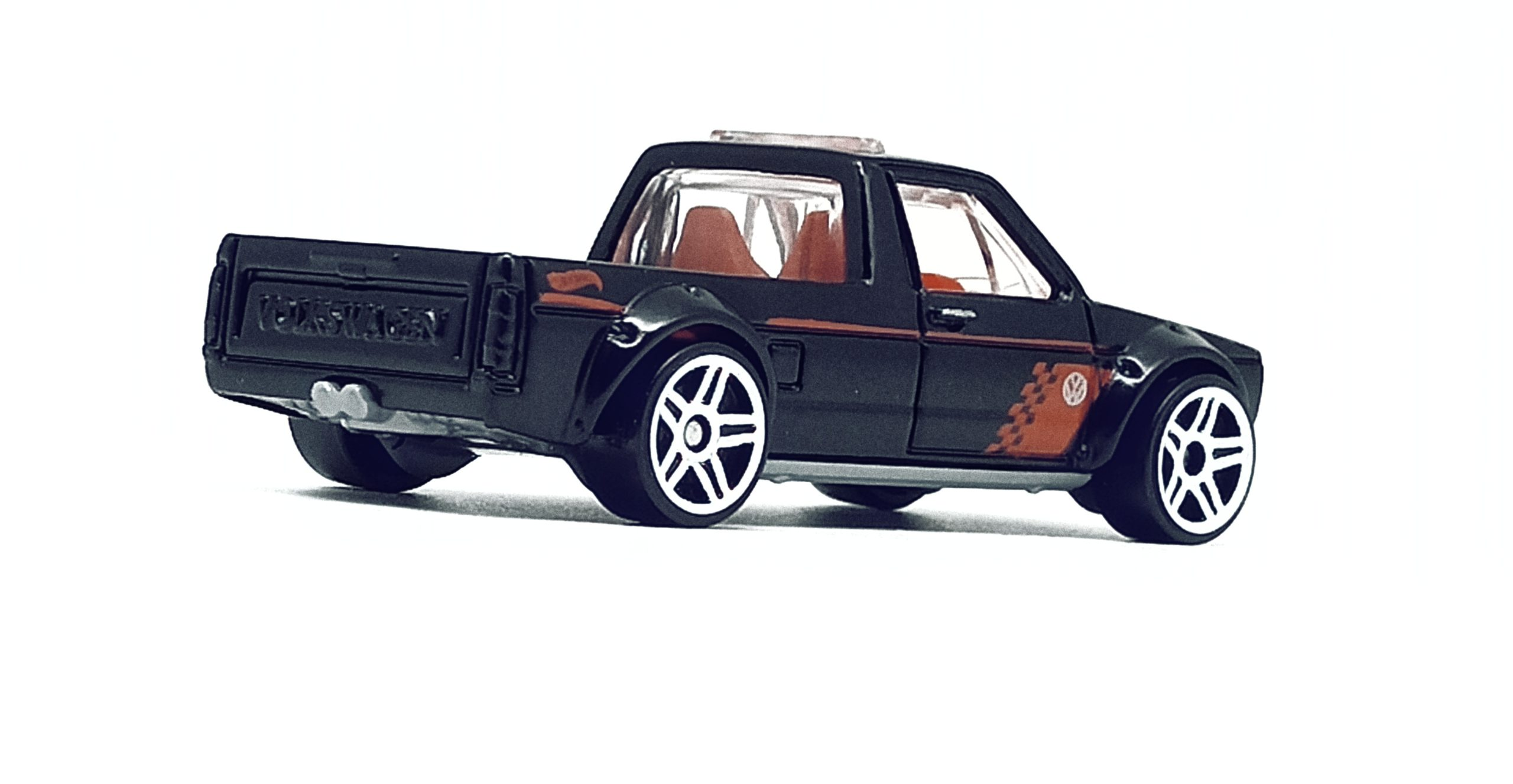 Hot Wheels Volkswagen Caddy (FYG73) 2019 (177/250) Target Red Edition (12/12) VW black side angle