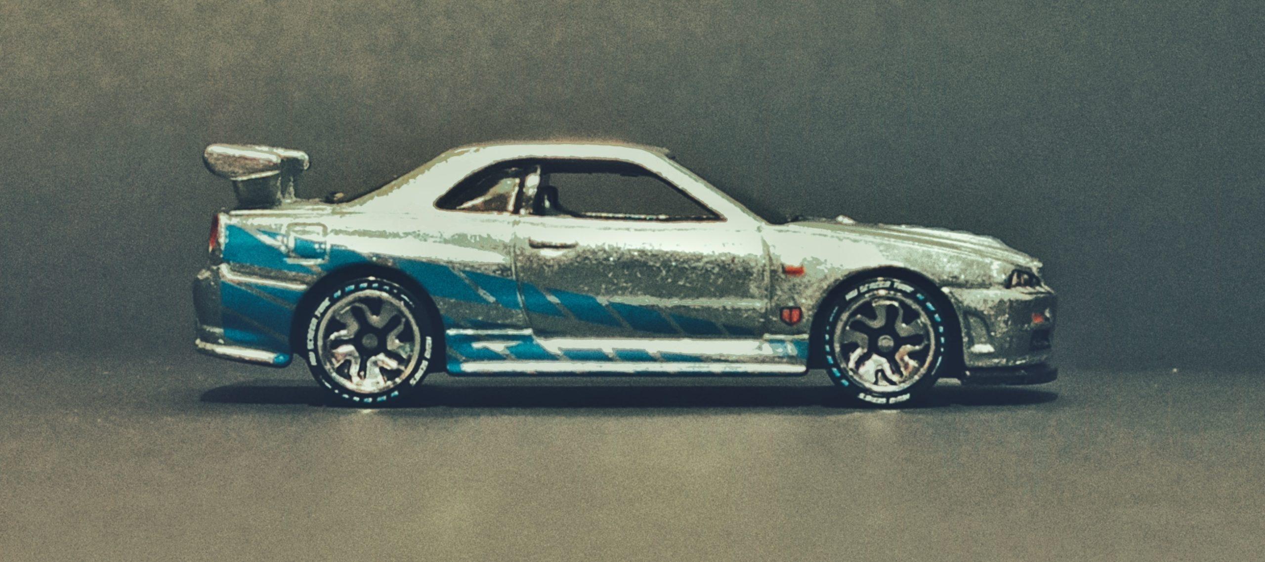 Hot Wheels id Nissan Skyline GT-R (R34) (HCJ08) 2021 HW Screen Time (01/03) zamac side