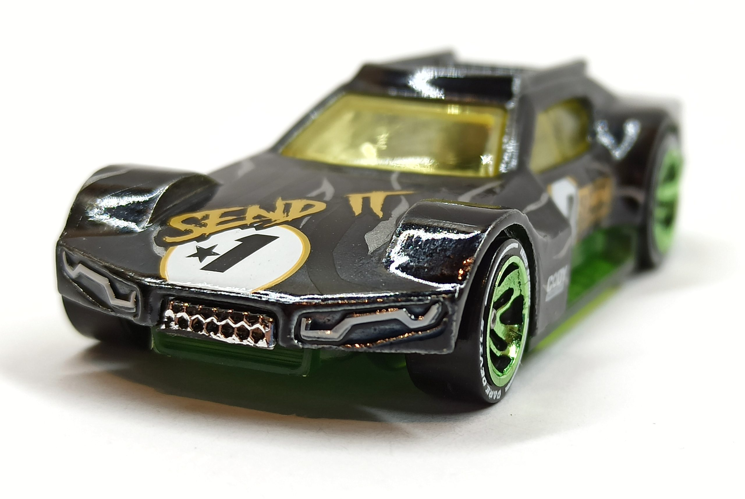 Hot Wheels Driftsta (GML16) 2021 Hot Wheels id: HW Daredevils (2/4) spectraflame black front angle