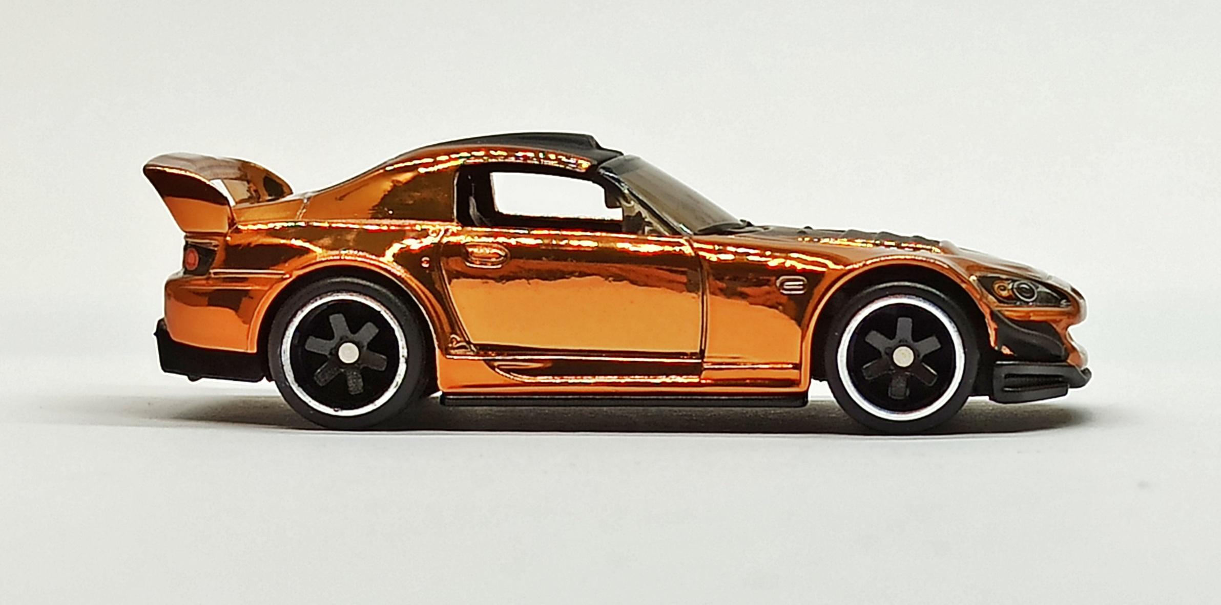Hot Wheels Honda S2000 2019 RLC Exclusive (1 of 10.000) spectraflame orange side