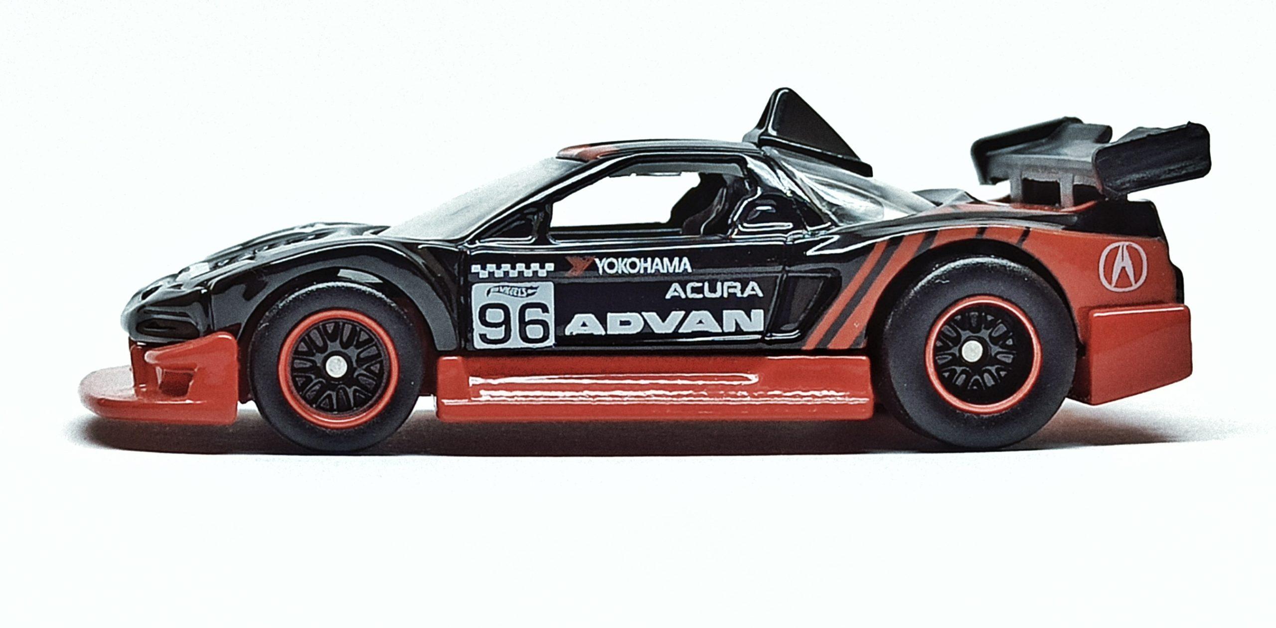 Hot Wheels Acura NSX (DWH79) 2017 Car Culture: Race Day (5/5) black (Advan)