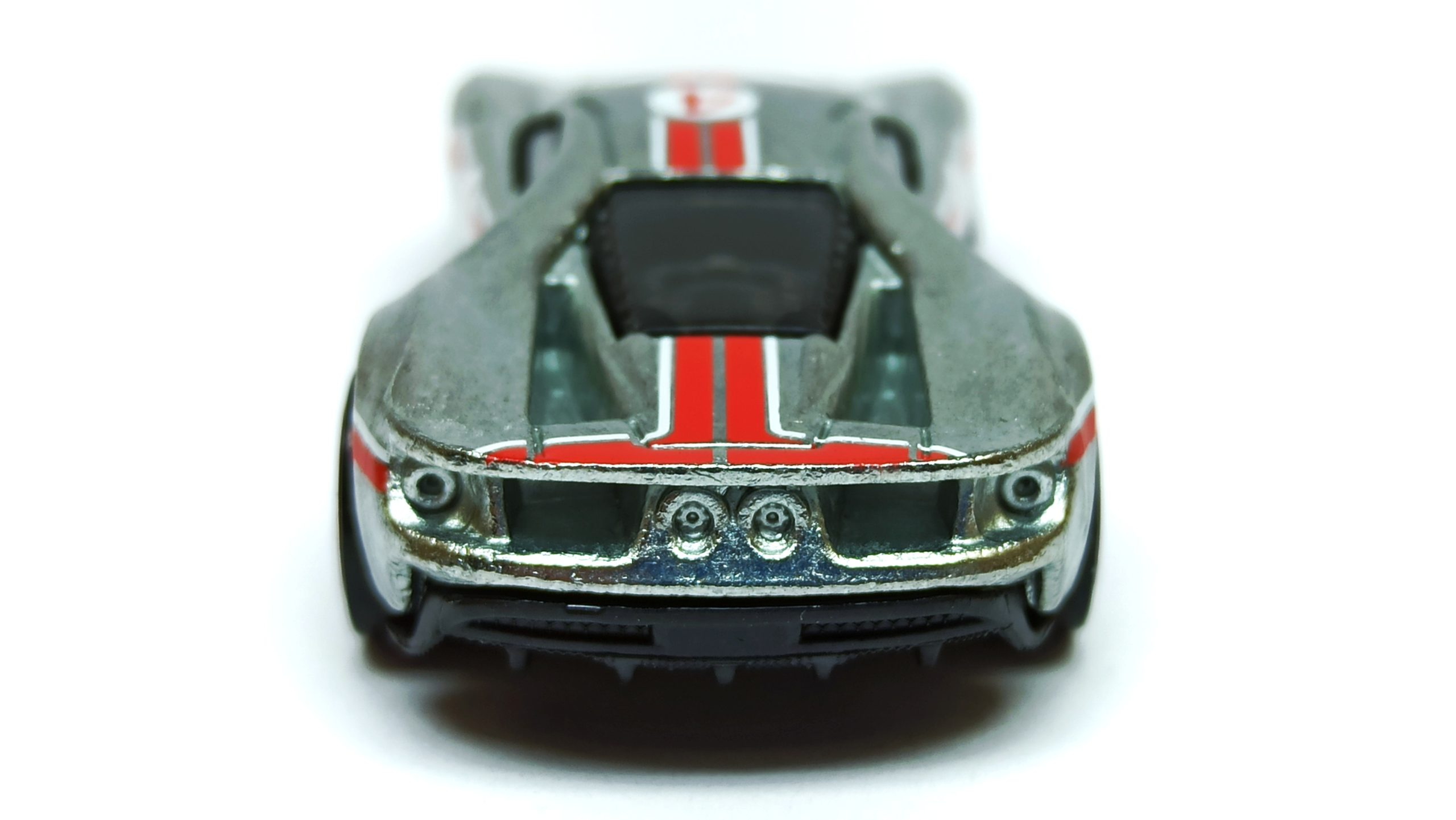Hot Wheels '17 Ford GT (GTD23) 2021 (164/250) Then and Now (7/10) zamac (Walmart Exclusive) back angle