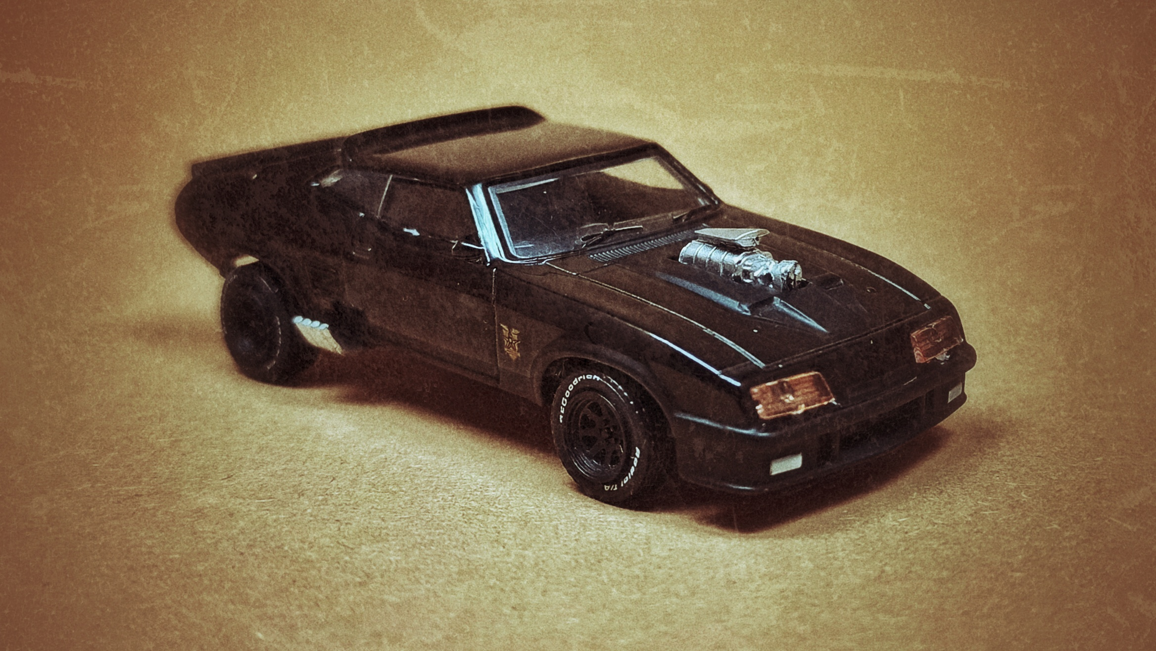 1973 Ford Falcon XB V8 Interceptor 2018 GreenLight Hollywood Series 17 Mad Max black